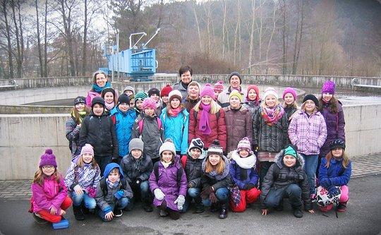 Oberauracher Viertklässer erkundeten die Wasser- und Abwasserversorgung der Gemeinde Oberaurach
